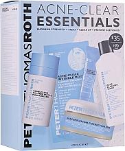 Духи, Парфюмерия, косметика Набор - Peter Thomas Roth Acne-Clear Essentials Kit (patch/12pcs+gel/20ml+patch/20pcs+f/wash/57ml+cr/7.5ml)