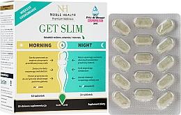 Духи, Парфюмерия, косметика Комплекс для похудения, 90шт - Noble Health Get Slim Morning & Night
