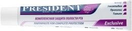 "Зубная паста ""Exclusive Clinical"" - PresiDENT  — фото N6"