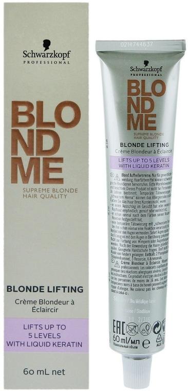 Осветляющий крем для светлых волос - Schwarzkopf Professional BlondMe Blonde Lifting — фото N2