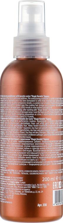 Кондиционер-реструктурант с кератином - Kapous Professional Air-Restrukturant Keratin Magic Keratin — фото N2