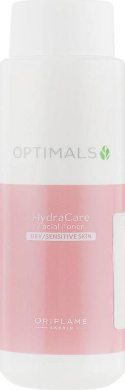Мягкий тоник для сухой и чувствительной кожи - Oriflame Optimals HydraCare Facial Toner