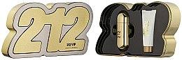 Духи, Парфюмерия, косметика Carolina Herrera 212 VIP - Набор (edp/80ml + b/lot/100ml)