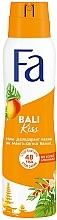 """Духи, Парфюмерия, косметика Дезодорант-спрей """"Ритмы островов. Bali Kiss"""", аромат манго и цветов ванили - Fa"""