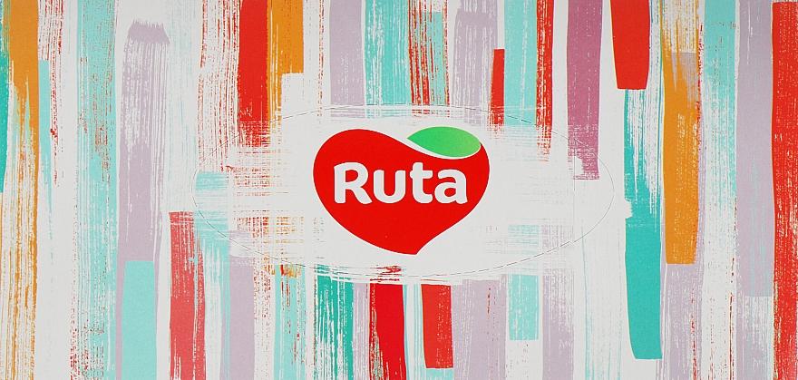Косметические салфетки 80 шт., разноцветные - Ruta
