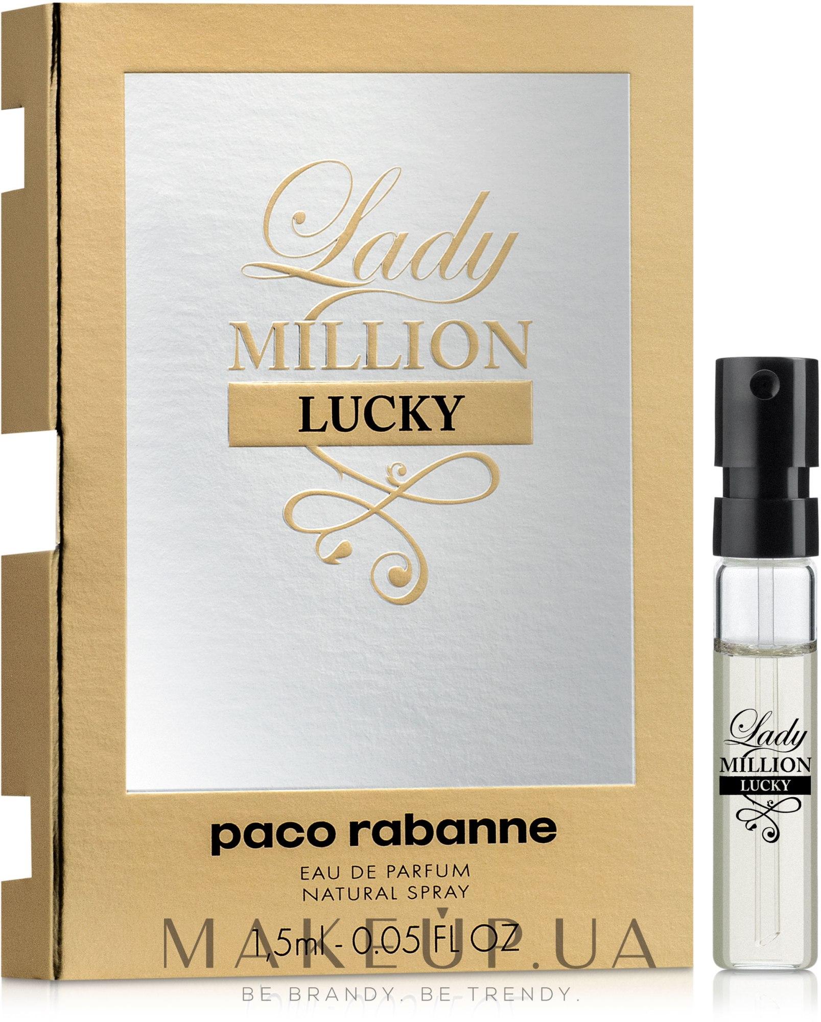 Makeup Paco Rabanne Lady Million Lucky парфюмированная вода