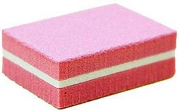 Духи, Парфюмерия, косметика Мини-баф для ногтей прямоугольный 180/180, розовый - Tufi Profi