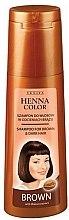 Духи, Парфюмерия, косметика Шампунь для коричневых волос - Venita Henna Color Brown Shampoo
