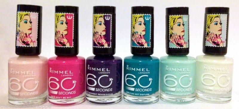 Лак для ногтей - Rimmel 60 Seconds Rita Ora