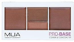 Духи, Парфюмерия, косметика Палетка корректоров для лица - MUA Pro-Base Cover & Conceal Kit