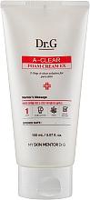 Духи, Парфюмерия, косметика Очищающая пенка-крем для проблемной кожи - DR.G A-Clear Foam Cream EX