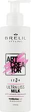 Духи, Парфюмерия, косметика Ультраразглаживающее молочко для волос - Brelil Art Creator Ultra Liss Milk