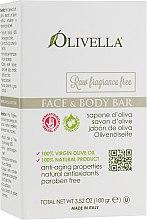 Духи, Парфюмерия, косметика Мыло для лица и тела на основе оливкового масла, без запаха - Olivella Face & Body Soap Olive