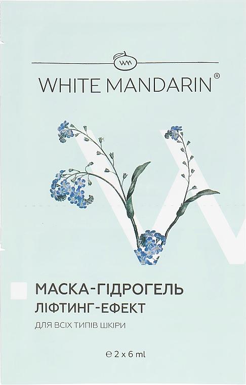 Маска-гидрогель «Лифтинг эффект» серии «Морские водоросли» - White Mandarin