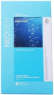 Тканевая маска для лица - Neogen Ocean Feeding Fiber Mask — фото N1