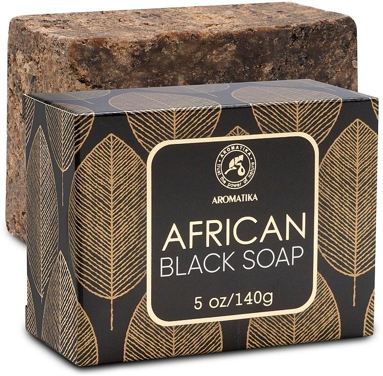 Африканское черное мыло - Aromatika African Black Soap