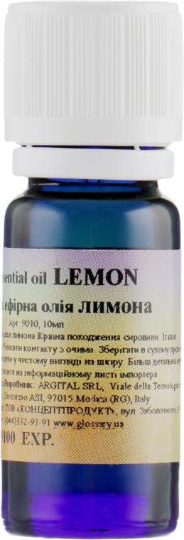 Ефірне масло Лимона - Argital Pure Essential Oil Lemon — фото N1