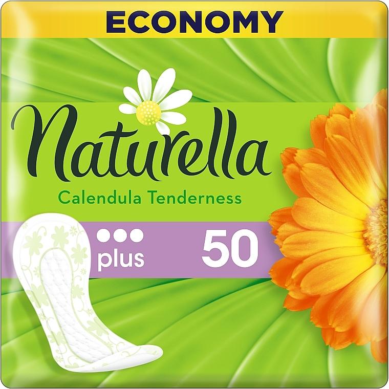 Ежедневные гигиенические прокладки Мягкость Календулы, 50шт - Naturella Calendula Tenderness Plus