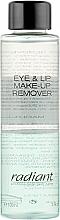 Духи, Парфюмерия, косметика Двухфазный лосьон для снятия макияжа - Radiant Eye&Lip Make Up Remover