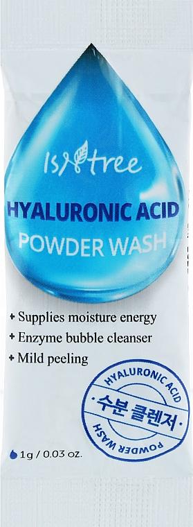 Энзимная пудра с гиалуроновой кислотой - Isntree Hyaluronic Acid Powder Wash