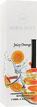 Духи, Парфюмерия, косметика Аромадиффузор - Mira Max Juicy Orange Fragrance Diffuser With Reeds