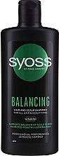 Духи, Парфюмерия, косметика Шампунь с женьшенем для всех типов волос и кожи головы - Syoss Balancing Ginseng Shampoo