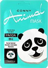 """Духи, Парфюмерия, косметика Успокаивающая маска для лица """"Панда"""" - Conny Animal Mask Panda"""