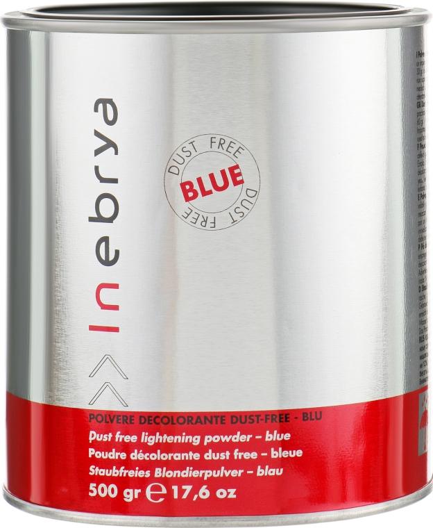 Обесцвечивающий порошок в банке, синий - Inebrya Bleaching Powder Blue