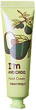 Духи, Парфюмерия, косметика Крем для рук - Tony Moly I'm Avocado