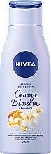 "Лосьон для тела ""Цветок апельсина и Масло авокадо"" - Nivea Body Oil in Lotion Orange Blossom & Avocado Oil — фото N2"