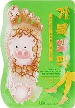 Духи, Парфюмерия, косметика Отшелушивающая маска-носочки для ног - Elizavecca Witch Piggy Hell-Pore Turtles Foot Pack