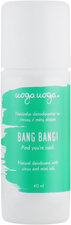 Натуральный дезодорант с цитрусовыми и мятными маслами - Uoga Uoga Natural Deodorant With Citrus And Mint Oils
