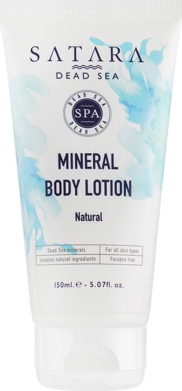 Натуральный минеральный лосьон для тела - Satara Dead Sea Body Lotion Natural