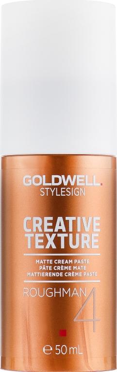 Матовая крем-паста сильной фиксации - Goldwell Style Sign Texture Roughman
