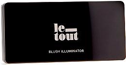 Духи, Парфюмерия, косметика Палетка для макияжа - Le Tout Blush Illuminator