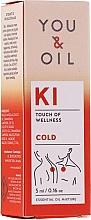 Духи, Парфюмерия, косметика Смесь эфирных масел - You & Oil KI-Cold Touch Of Wellness Essential Oil