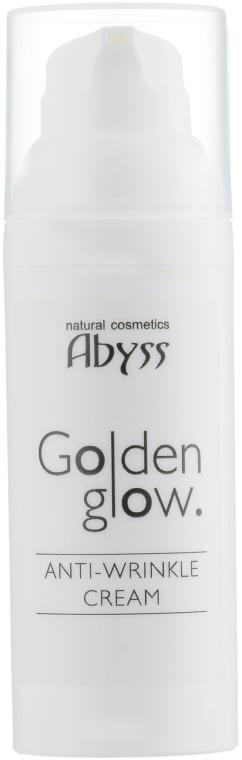 Антивозрастной крем с био-золотом - Spa Abyss Golden Glow Anti-Wrinkle Cream