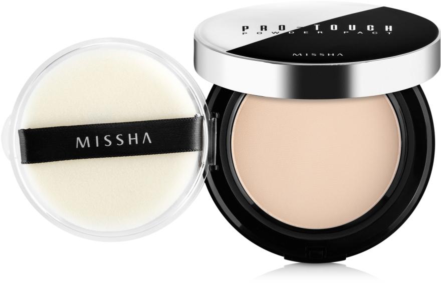 Компактная пудра для лица - Missha Pro-Touch Powder Pact SPF25/PA++