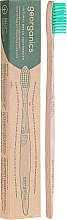 Духи, Парфюмерия, косметика Бамбуковая зубная щетка - Georganics Bamboo Medium Toothbrush Green