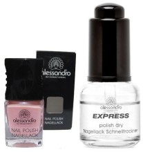 Духи, Парфюмерия, косметика РАСПРОДАЖА Набор - Alessandro International Express Set (nail/5ml + polish dry/14ml)