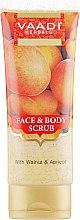 Духи, Парфюмерия, косметика Скраб для тела и лица - Vaadi Herbals Face And Body Scrub