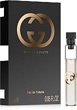 Духи, Парфюмерия, косметика Gucci Guilty - Туалетная вода (пробник)