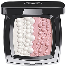 Духи, Парфюмерия, косметика Пудра-румяна для лица - Chanel Les Perles De Lumiere Illuminating Blush Powder (тестер без коробки)