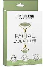 Духи, Парфюмерия, косметика Нефритовый роллер для лица - Joko Blend Jade Roller