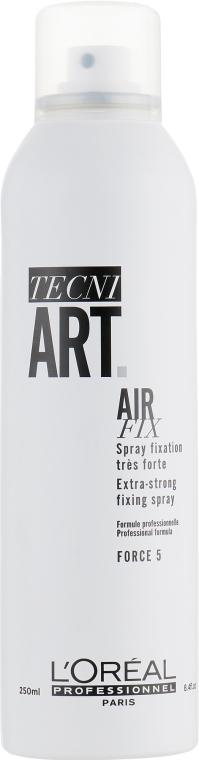 Лак для объема суперсильной фиксации - L'Oreal Professionnel Tecni.art Full Volume Extra — фото N1