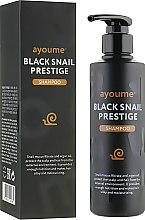 Духи, Парфюмерия, косметика Шампунь для волос с муцином улитки - Ayoume Black Snail Prestige Shampoo
