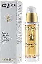 Духи, Парфюмерия, косметика Сыворотка очищающая себорегулирующая - Sothys Purifying Serum Oily Skin