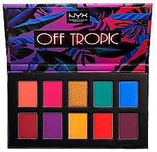 Духи, Парфюмерия, косметика Палетка теней - NYX Professional Makeup Off Tropic Shadow Palette