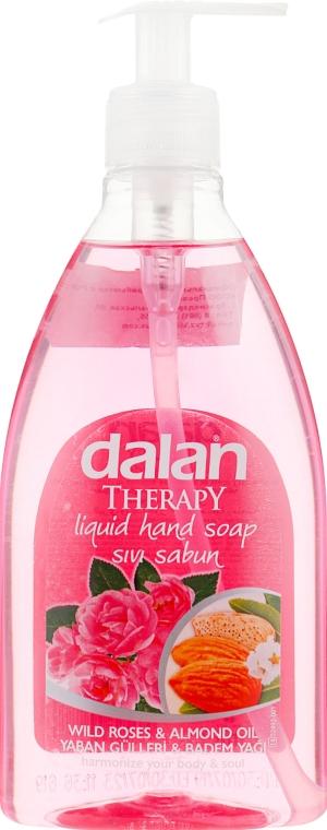 """Мыло жидкое """"Дикие Розы и Миндальное Масло"""" - Dalan Therapy Wild Roses & Almond Oil Soap"""