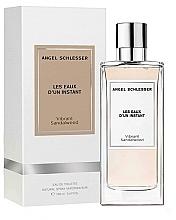 Духи, Парфюмерия, косметика Angel Schlesser Les Eaux d'un Instant Vibrant Sandalwood - Туалетная вода